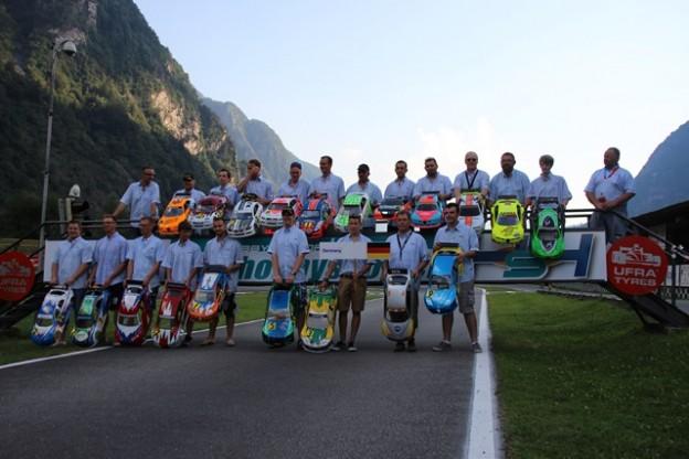 Teilnehmer der WM VG5 in Lostallo