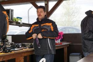 Der erste Tabellenführer der SMW VG10S: Frank Pock