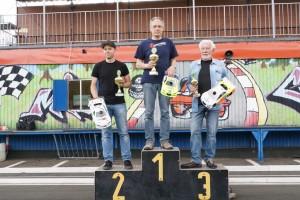 VG10S-Podium: Florian Düppe, Hermann-Josef Fuchs, Werner Vogel (l-r) - Fotos: Tanja Stock