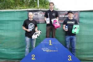 SMW VG10S: Meister Florian Düppe (links), Bad-Breisig-Sieger Sven Lommersum (Mitte), Philipp Wisniewski