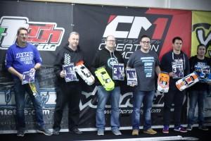 EGTWSP: Die Top 3 und Subfinal-Sieger.