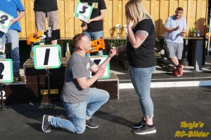 Heiratsantrag bei er Siegerehrung: Phiipp Wisniewski und seine Svenja