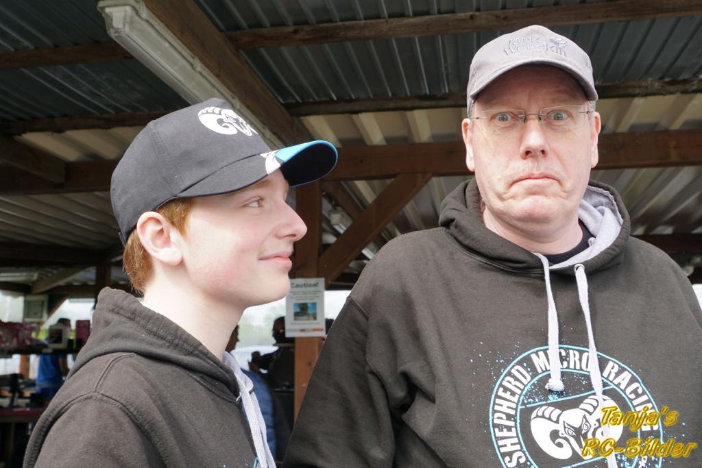David Kröger mit Papa Thomas