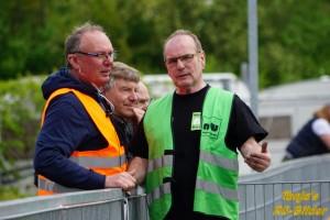 Neues Führungsduo im SK West: Emil Kwasny (Vorsitzender, links), Heinz Kroezemann (Stellvertreter)