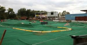 Die rund 300 Meter lange auf Offroad-Strecke des RC-Club Großheubach ist komplett mit Kunstrasenteppich ausgelegt.