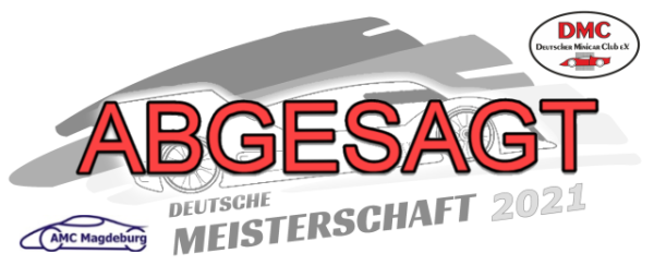 Absage DM 1/12 2021 AMC Magdeburg